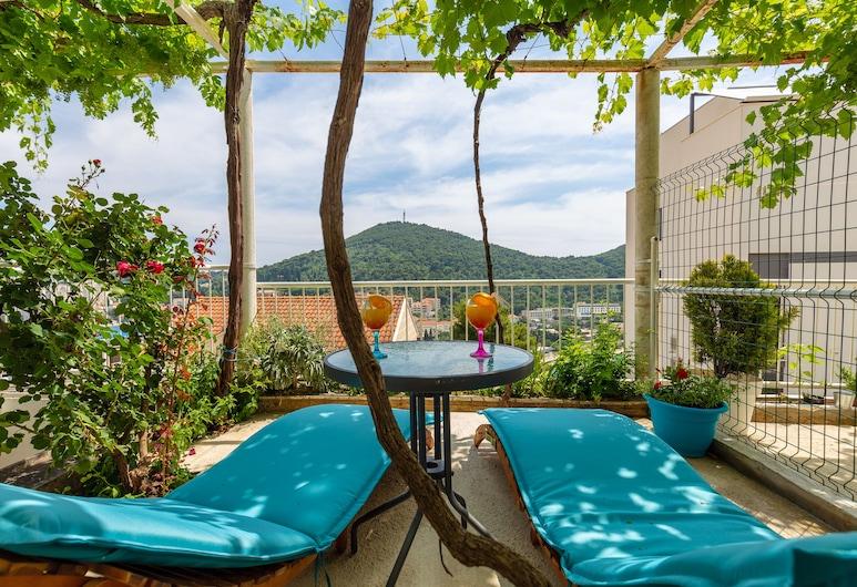 Apartments Zore Glavinic, Dubrovnik, Estúdio, Terraço, Terraço/pátio