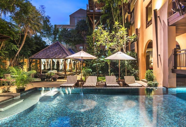 蘇梅島查汶塔納美居酒店, 蘇梅島, 室外泳池
