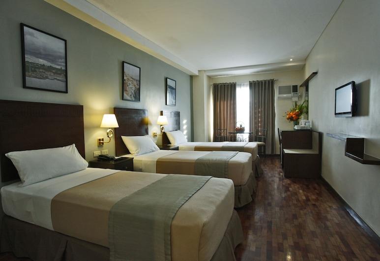 Fersal Hotel Kalayaan, Quezon City, Deluxe Triple Room, 3 Twin Beds, Guest Room