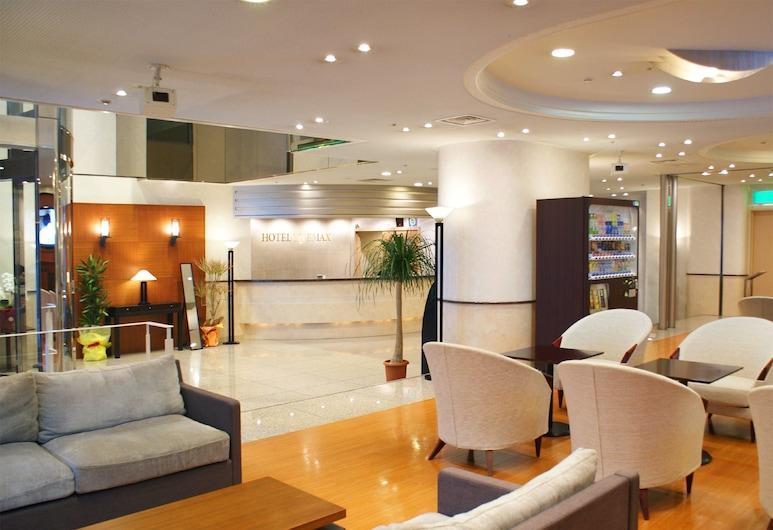 HOTEL LiVEMAX Sapporo, Σαπόρο, Καθιστικό στο λόμπι
