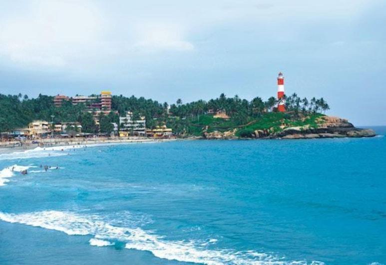 Sagara Beach Resort, Neyyattinkara, Παραλία
