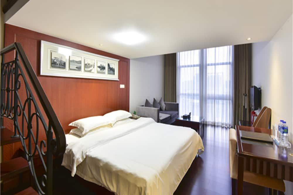 Appartement Duplex Supérieur - Salle de séjour
