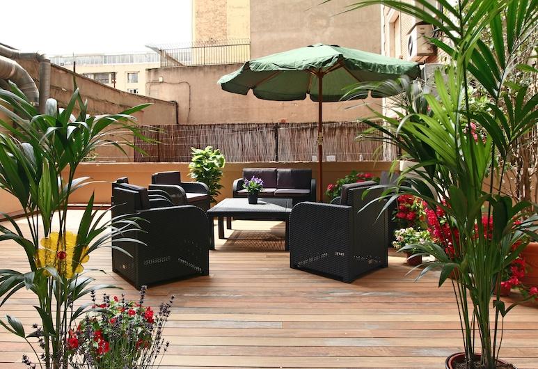 Blanc Guesthouse, Barcelona, Terraza o patio