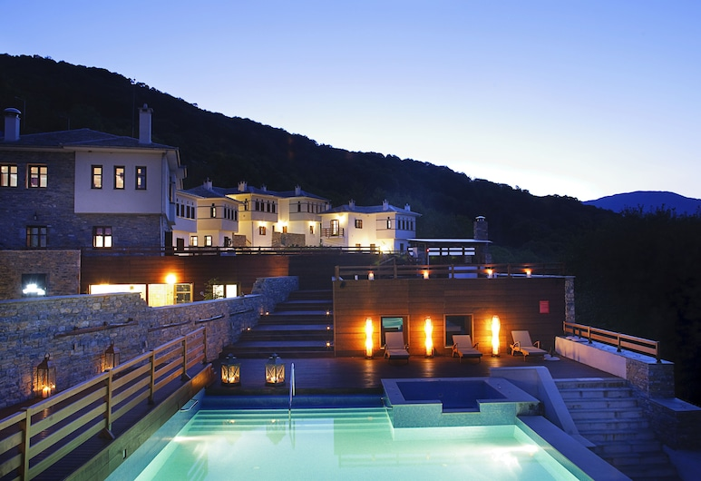 12 Months Luxury Resort, Zagora-Mouresi, บริเวณภายนอก