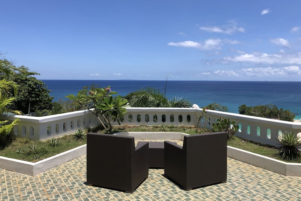 Panorama-lejlighed - 2 soveværelser - havudsigt - Terrasse/patio