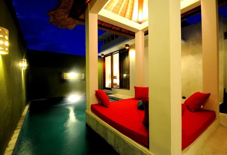 Jas Boutique Villas, Σεμινιάκ, Βίλα, 2 Υπνοδωμάτια, Ιδιωτική Πισίνα, Αίθριο/βεράντα