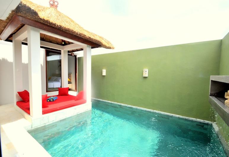 Jas Boutique Villas, Seminyak, One Bedroom Private Pool Villa (Room ONLY), Vista do quarto