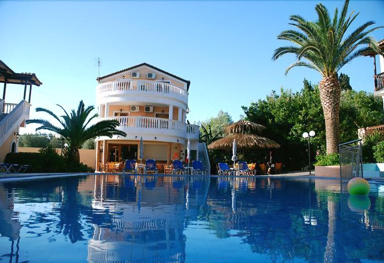 Lazaros Hotel Apartments, Zakynthos, Breakfast Area