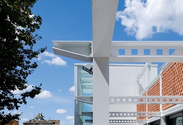 里特斯塔飯店, 羅馬, 陽台