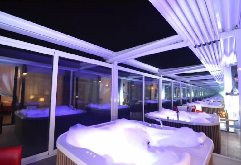 Hotel Re Testa, Roma, Suite, massasjebadekar, Gjesterom