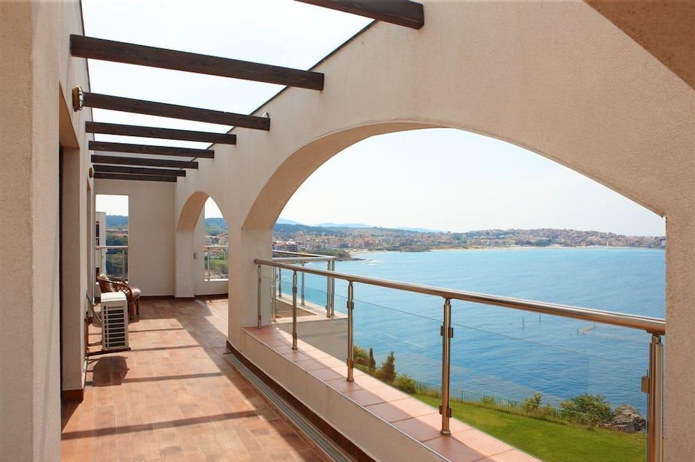 Family Apartment, 2 Bedrooms, Sea View - Balkoni