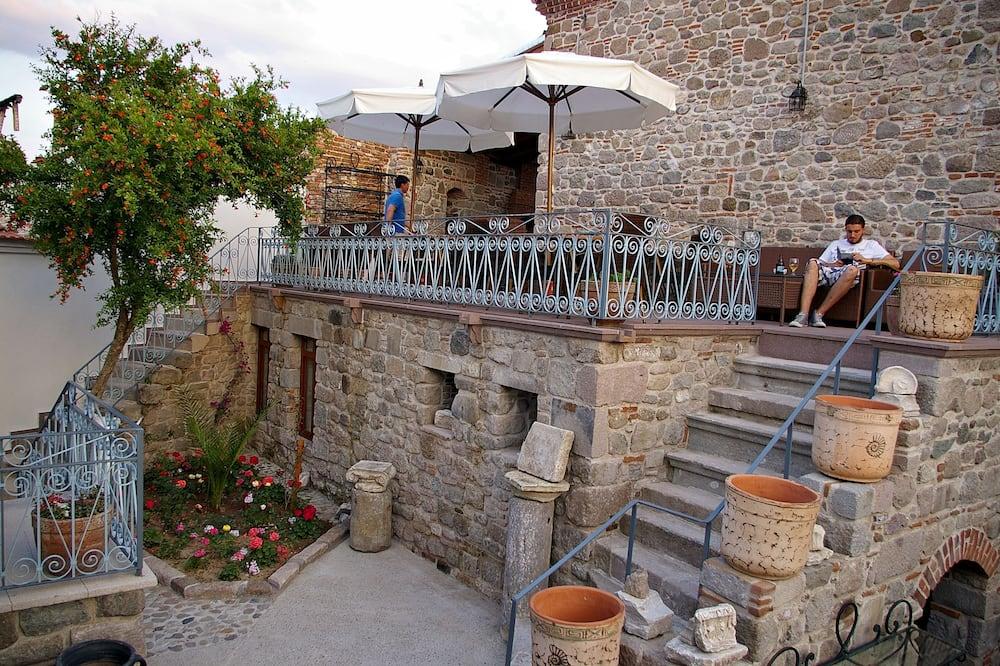 Standard-Doppel- oder -Zweibettzimmer - Garten