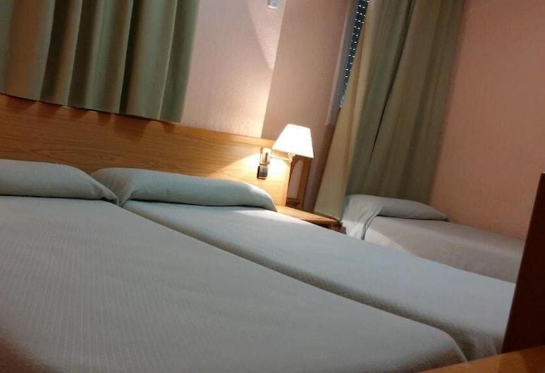 Hotel Rialto , Alicante, Τρίκλινο Δωμάτιο, Δωμάτιο επισκεπτών