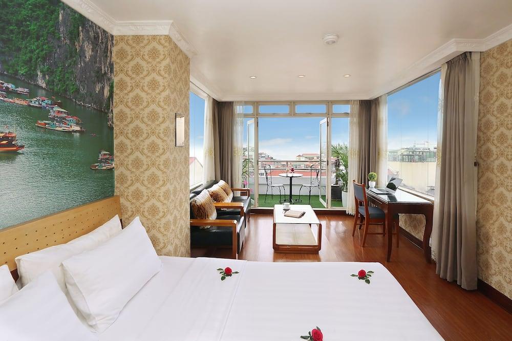 Deluxe Δωμάτιο, Μπαλκόνι - Δωμάτιο επισκεπτών