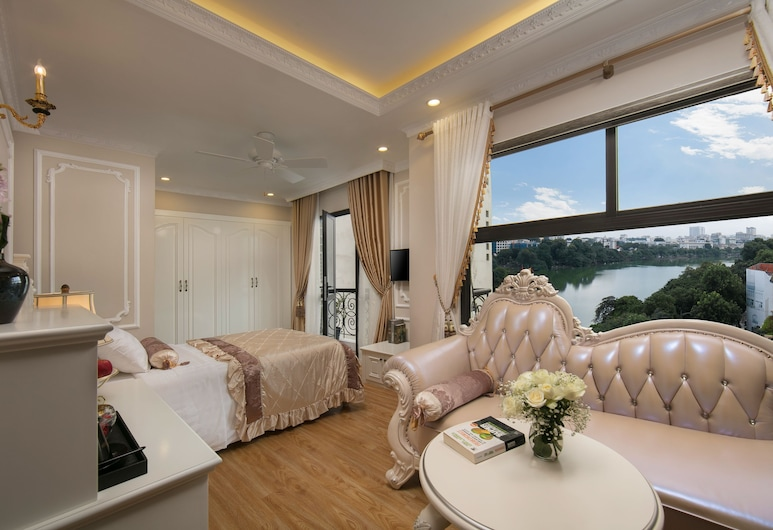Royal Holiday Hanoi Hotel, Hanoi, Familien-Suite, Stadtblick, Seeblick
