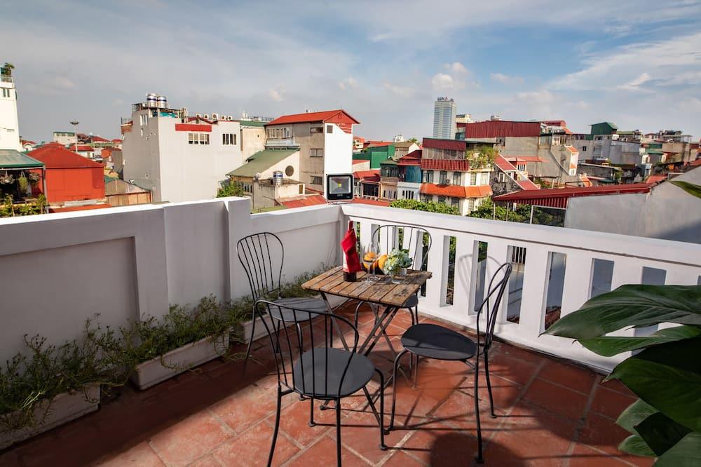Executive-Doppel- oder -Zweibettzimmer, Balkon - Balkon