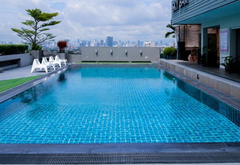 Bangkok Inter Place Hotel, Bangkok, Rooftop Pool