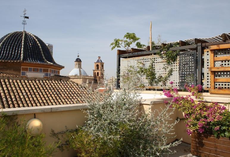 アパルタメントス カルメン, Alicante, アパートメント 3 ベッドルーム テラス (4 pax), シティ ビュー