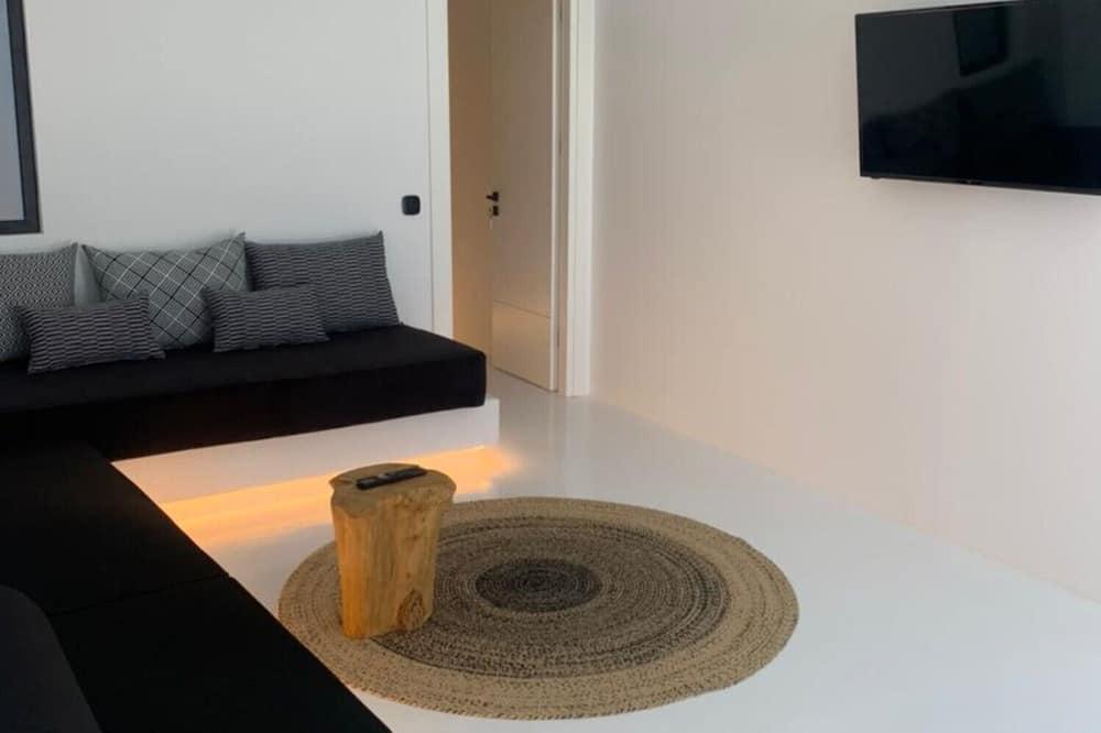 Suite - privat pool - Opholdsområde