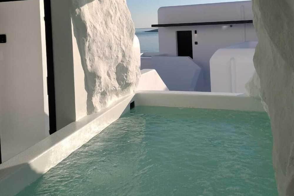Suite - 2 soveværelser (Cave Pool) - Privat pool