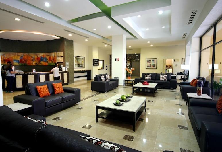 HB Hoteles Xalapa, Xalapa, Sitzecke in der Lobby
