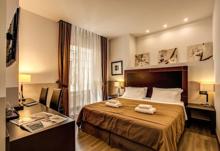 Hotel Boutique Nazionale, Rome, Double or Twin Room, Guest Room