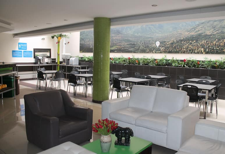 Hotel Acqua Express, Medellin, Lobby Sitting Area
