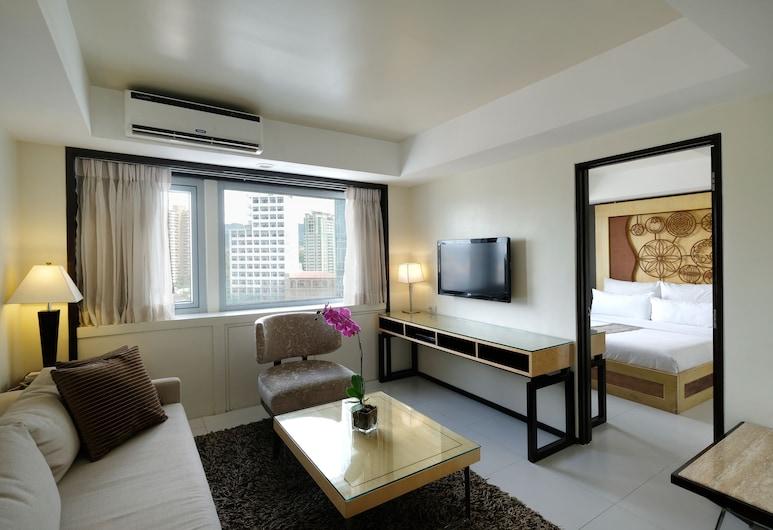探索酒店及會議中心 - 宿霧, 宿霧, 普通雙人房, 客廳