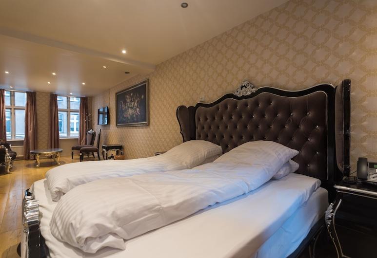 A Hotels City, Copenhague, Suite, 1 lit double, Chambre