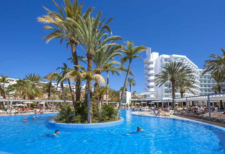 Hotel Riu Papayas - All Inclusive, Сан-Бартоломе-де-Тірахана, Басейн