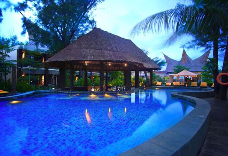 Aston Sunset Beach Resort - Gili Trawangan, Gili Trawangan, Poolside Bar