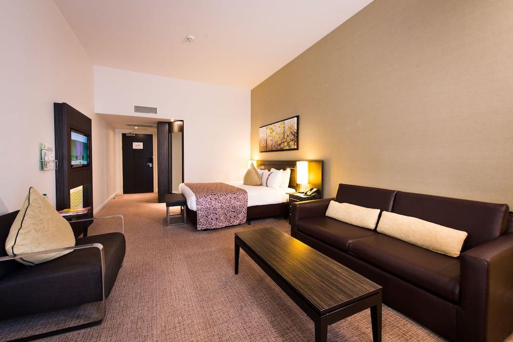 Phòng Executive, 1 giường cỡ king, Không hút thuốc - Khu phòng khách