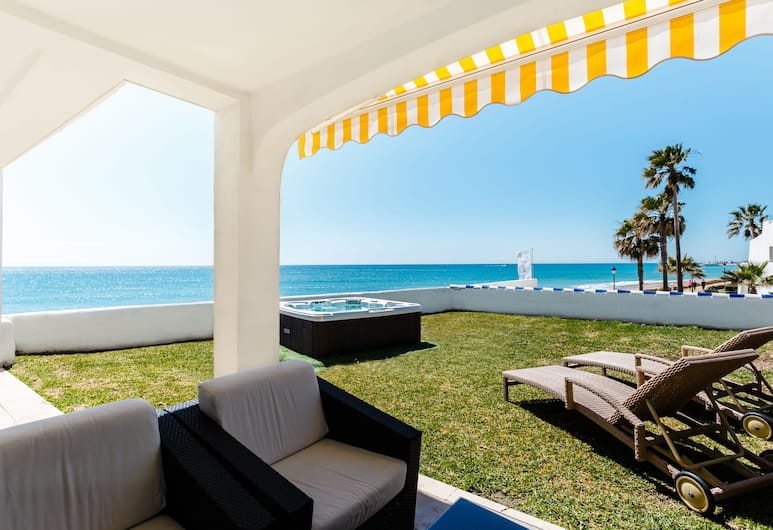 コーラル ビーチ アパートホテル, マルベラ, スーペリア アパートメント 2 ベッドルーム ジェットバス, テラス / パティオ
