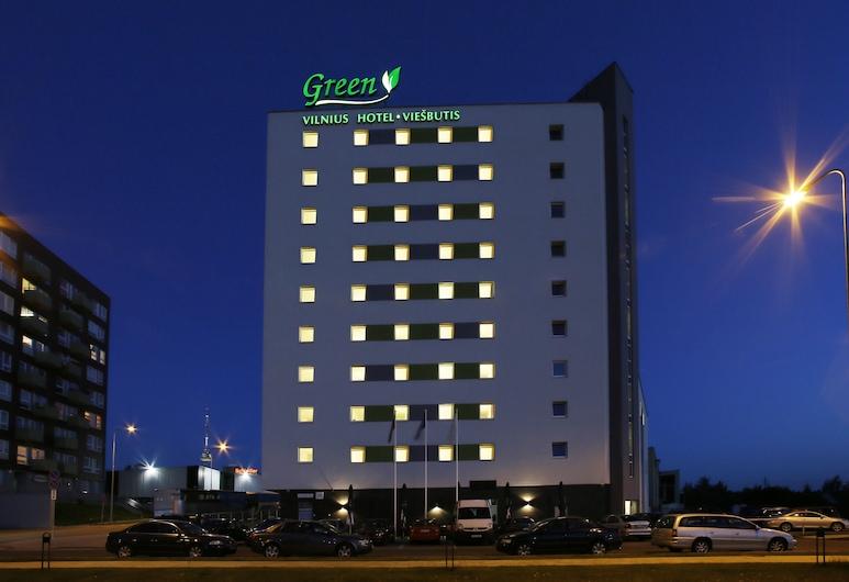 Green Vilnius Hotel, Vilnius, Fassaad õhtul/öösel