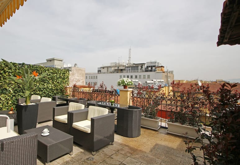 Hotel Indipendenza, Rome, Terrace/Patio