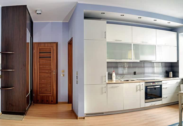 Marszalkowska Apartment, Varsjá, Deluxe-íbúð, Stofa
