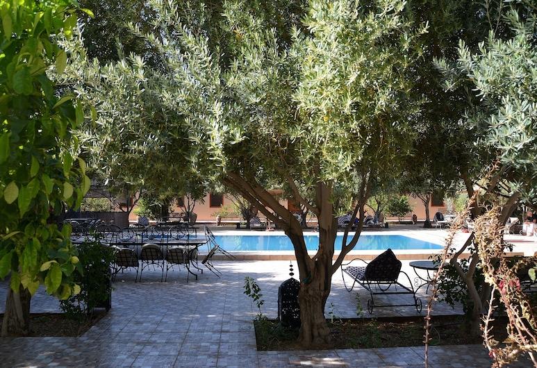 Haven La Chance Desert Hotel, Taouz, Traditional Triple Room, Private Bathroom, Pemandangan Taman