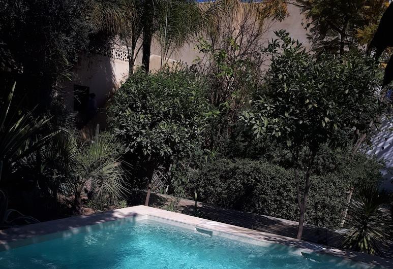 Le Jardin des Biehn, Fes, Medence