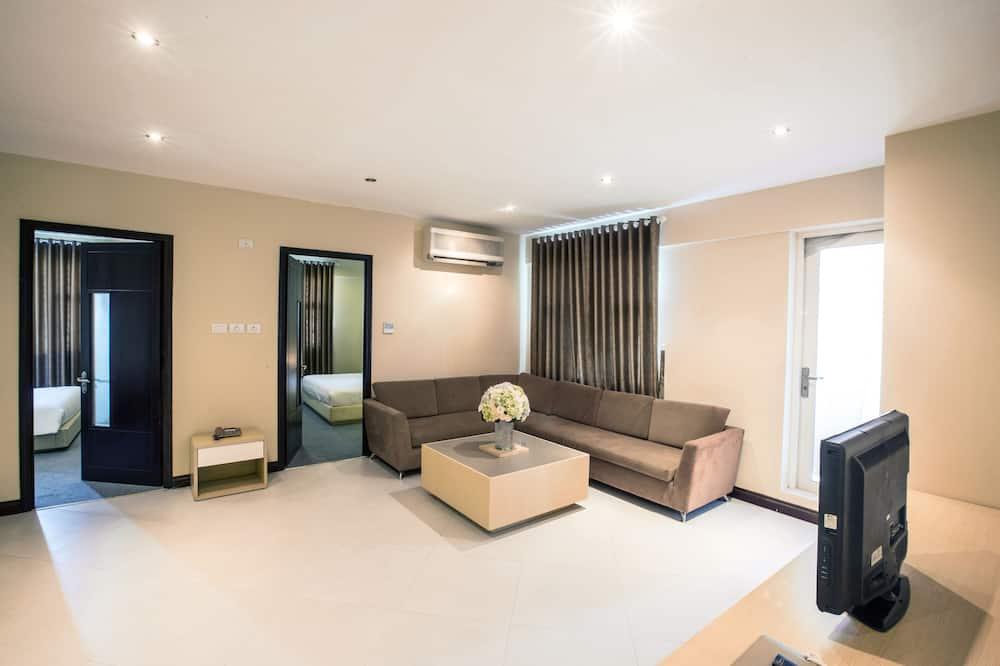 Suite, 3 spavaće sobe - Dnevna soba