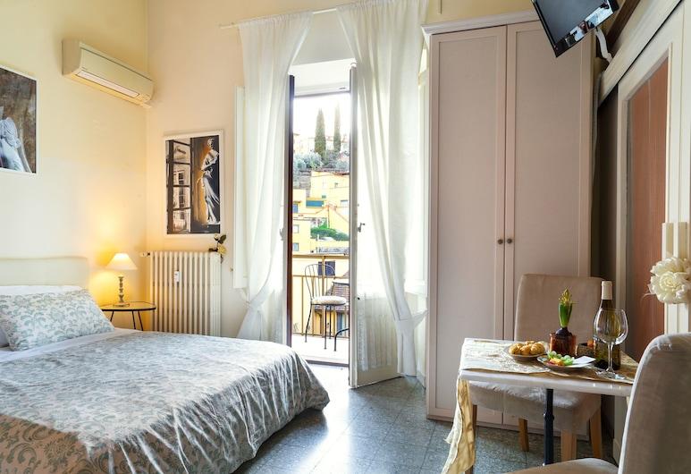 1900 Artevita, Florencia, Štandardná izba s dvojlôžkom alebo oddelenými lôžkami, 1 dvojlôžko alebo 2 jednolôžka, Hosťovská izba