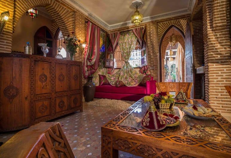 里雅德瑪布羅卡酒店, 馬拉喀什, 家庭套房, 客廳