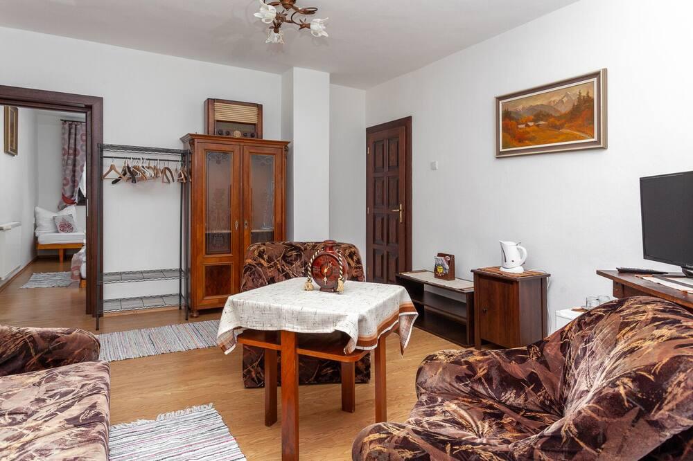 Rodinný apartmán, 1 spálňa - Obývačka