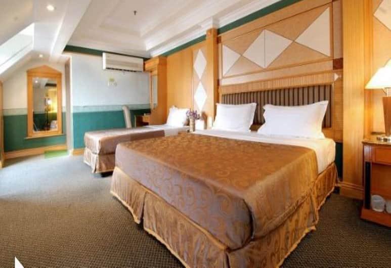 里歐宮殿飯店, 吉隆坡, 豪華三人房, 客房