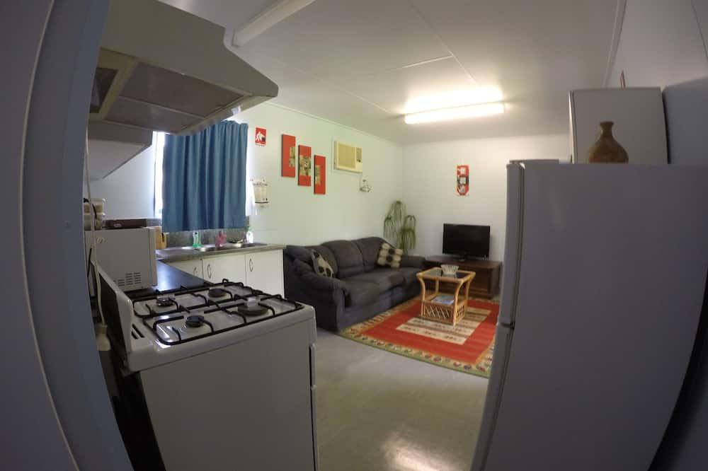 Apartament standardowy typu Suite, 2 sypialnie, kuchnia (Cottage) - Powierzchnia mieszkalna