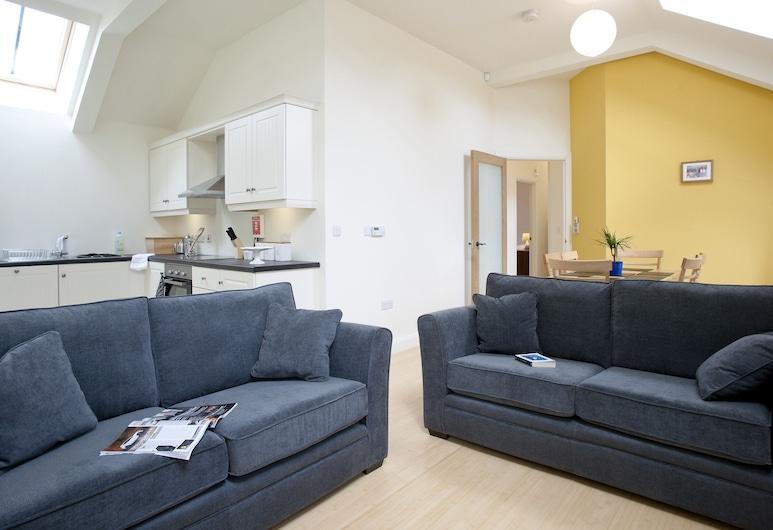 Pyjama Factory Self Catering Accommodation, Bushmills, Apartment, mit Bad (Apartment No. 49), Lounge