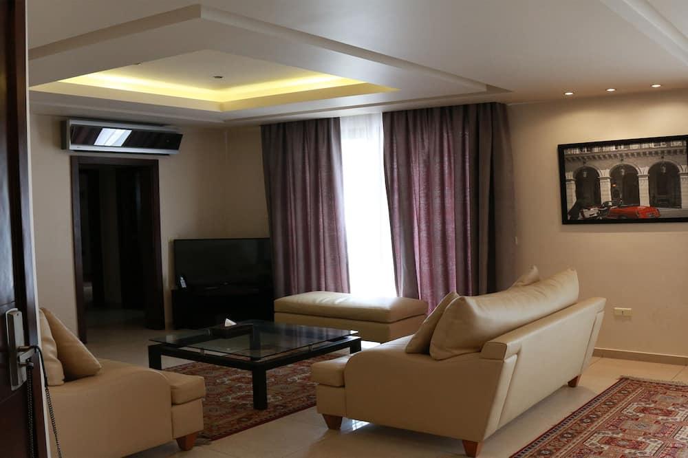 Presidential-Penthouse, Küche - Wohnzimmer