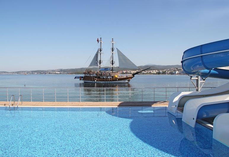 Gold Island Hotel - All Inclusive, Alanya, Vonkajší bazén