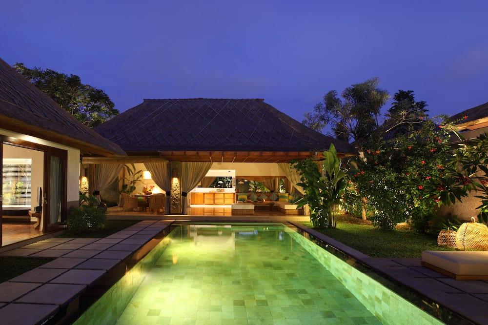 Vila premier, 1 quarto, VIsta para a piscina (Premiere One Bedroom Pool Villa) - Piscina externa