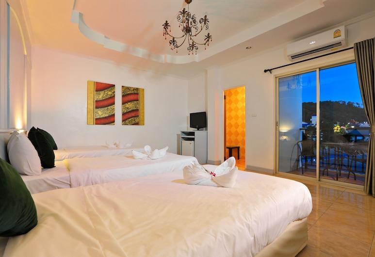 阿里亞八球記錄酒店, 巴東, 標準三人房, 1 間臥室, 吸煙房, 城市景, 客房