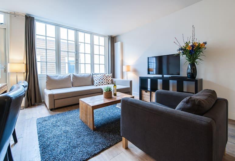 阿姆斯特丹港口短租集團服務式公寓酒店, 阿姆斯特丹, 基本公寓, 2 間臥室, 廚房, 客廳